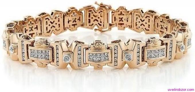 мужские золотые браслеты на руку