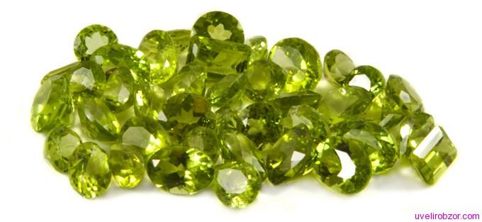 Зеленый перидот