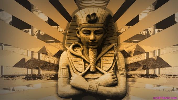 Золотые украшения фараонов