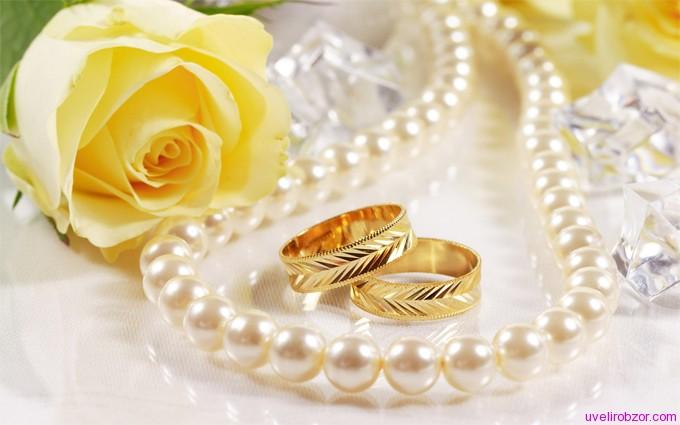 Производство обручальных колец из золота