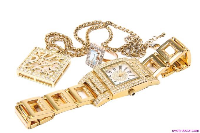 Золото и драгоценные камни