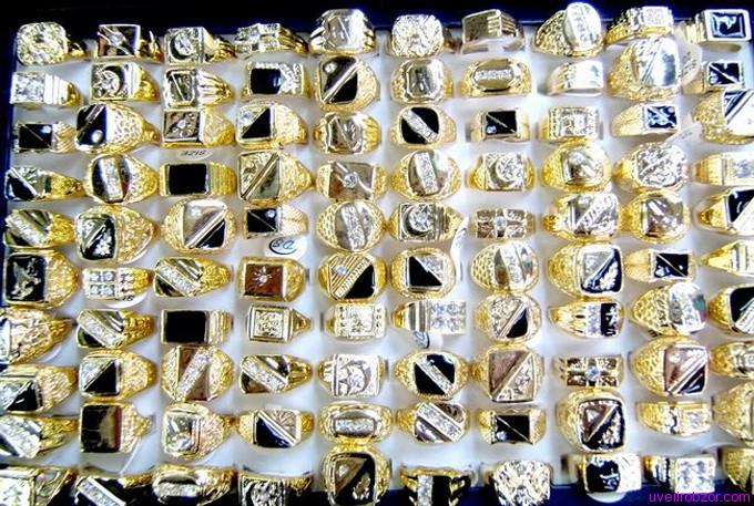 Как чистить золотые кольца