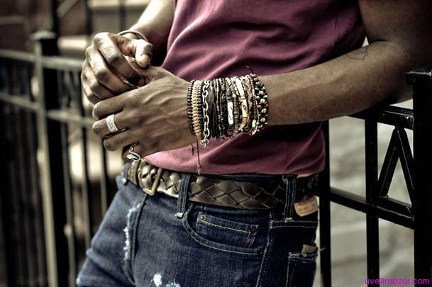 Правиладля мужских украшений