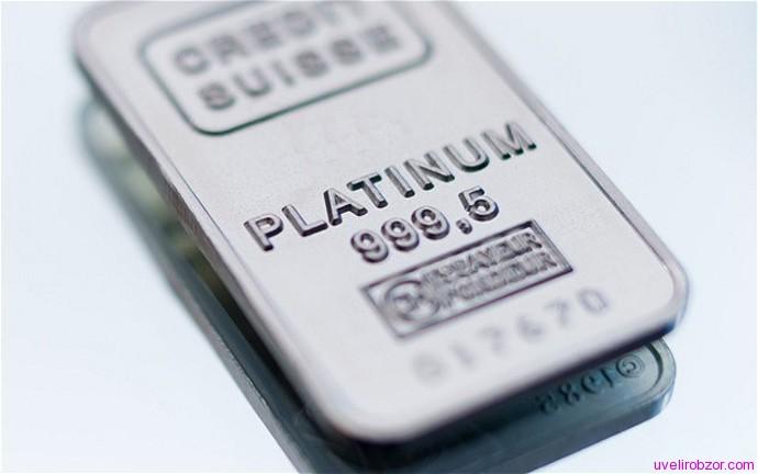 Объем производства платины в России почти достиг 30 тонн