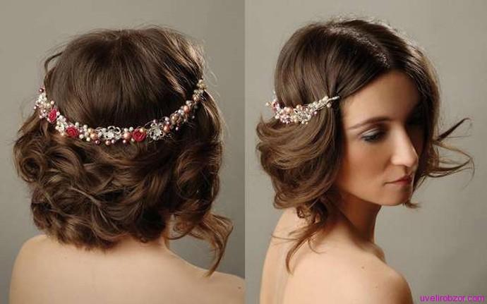 Ювелирные украшения для волос